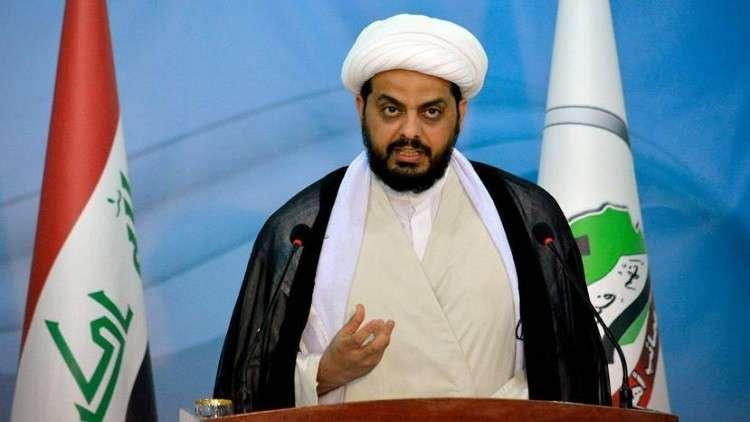 """الخزعلي: """"عصائب أهل الحق"""" أصبحت حزبا سياسيا.. مقاتلوه تحت إمرة العبادي"""