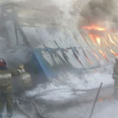 10 reportedly killed as major blaze engulfs shoe factory in Siberia