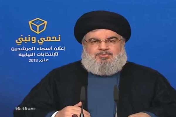 نصرالله: لا حساسية من الاستراتيجية الدفاعية ما دام عون هو من طرحها