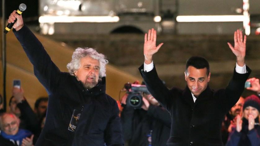 Anti-establishment Euroskeptics surge in Italian election, centrist parties shrink – projections