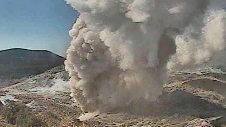 ثوران بركان في اليابان ولا إصابات