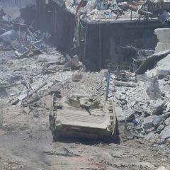 الجيش السوري يبسط سيطرته على مخيم اليرموك جنوبي العاصمة دمشق