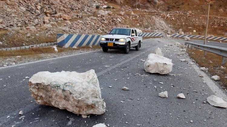عشرات الجرحى في زلزال ضرب جنوب غرب إيران