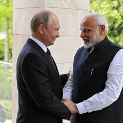 'A new impetus': Putin and Modi praise 'extremely productive' Sochi talks