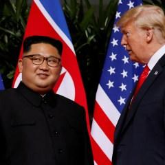 قمة تاريخية بين الرئيس الأميركي والزعيم الكوري الشمالي