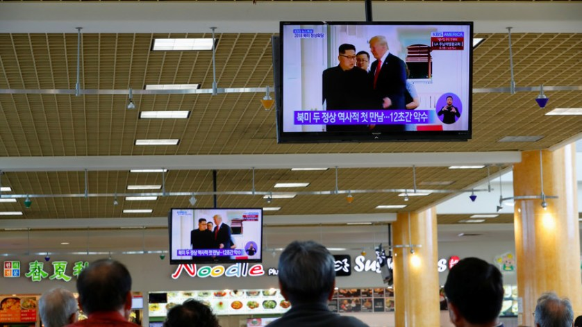 'Sleepless night': In South Korea, all eyes on Kim-Trump summit