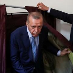Erdogan wins 1st term as president 'under new system'