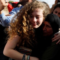 'Resistance continues': Palestinian teen Ahed Tamimi home after 8 months in Israeli jail (VIDEO)