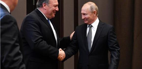 بوتين خلال لقائه بومبيو: نسعى إلى تطبيع كامل العلاقات مع واشنطن