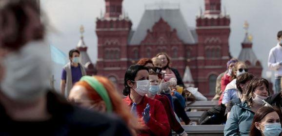 روسيا تسجل 135 وفاة و6622 إصابة بكورونا خلال 24 ساعة