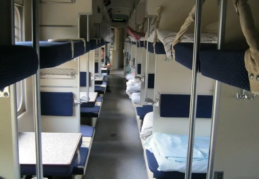 Mosca San Pietroburgo in treno