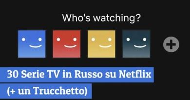 30 Serie TV in Russo su Netflix (+ un Trucchetto)