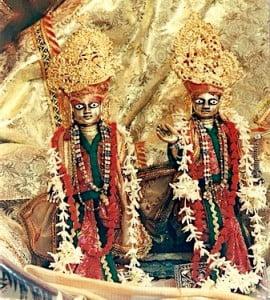 Gadadhara Gaura at Sri Haridas Niwas, Kaliya-daha, Vrindavan