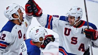 Американцы победили Канаду в финале молодежного ЧМ
