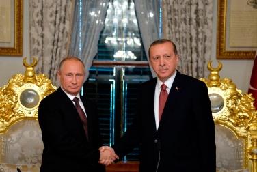 Путин обсудит с Эрдоганом Сирию и совместные мегапроекты в экономике