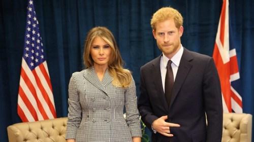 Принц Гарри встретился с Меланией Трамп