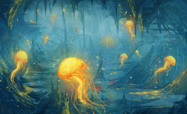 Летающие медузы, кальмары и сухопутные осьминоги в ...