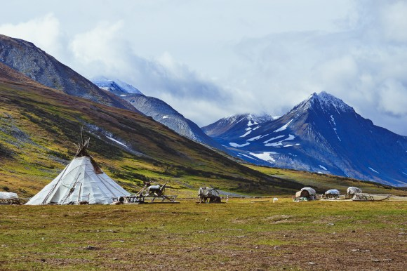 The Russian Arctic Travel Nenets homestay in summer