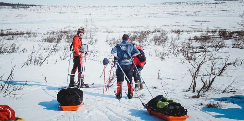 polar urals skitouring