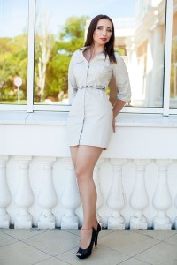 calm Ukrainian girl from city Odessa Ukraine