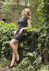 delicate Ukrainian woman from city Alchevsk Ukraine