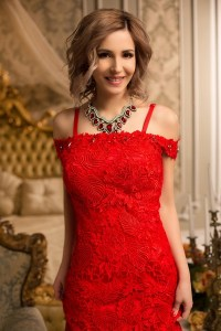 sympathetic Ukrainian femininity from city Kiev Ukraine