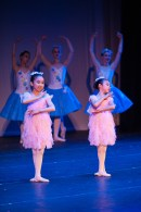 Young dancers performing Dream scene at the second act