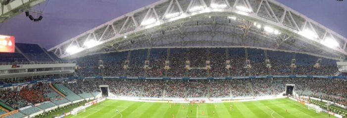 Fisht Stadium in Sochi, Russia