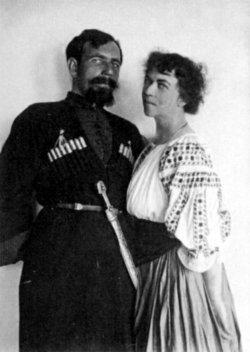 Alexandra Kollontai with a fellow 'Comrade'