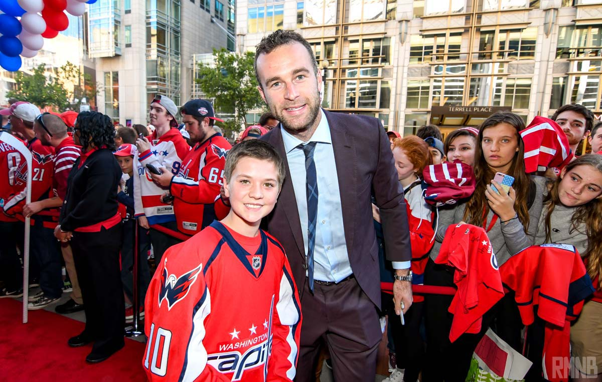 Brett Connolly poses for a photo with RMNB