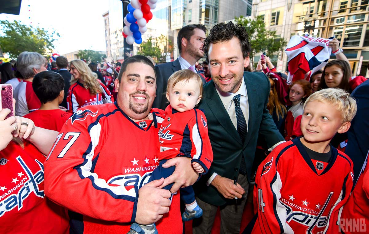 Justin Williams poses for a photo for RMNB