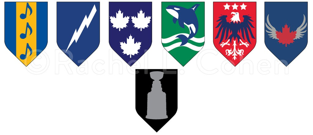 new product 209f2 2ec16 Game of Thrones-Style Sigils for Every NHL Team