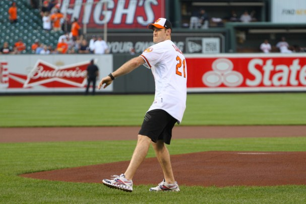 Brooks Laich First Pitch (18 of 24)