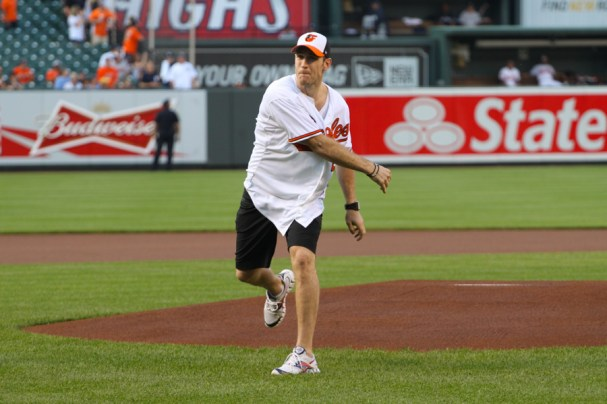 Brooks Laich First Pitch (19 of 24)