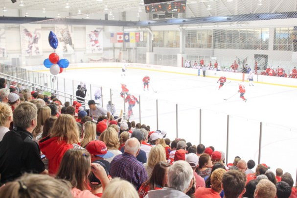 Caps Fanfest Final Scrimmage (16 of 26)