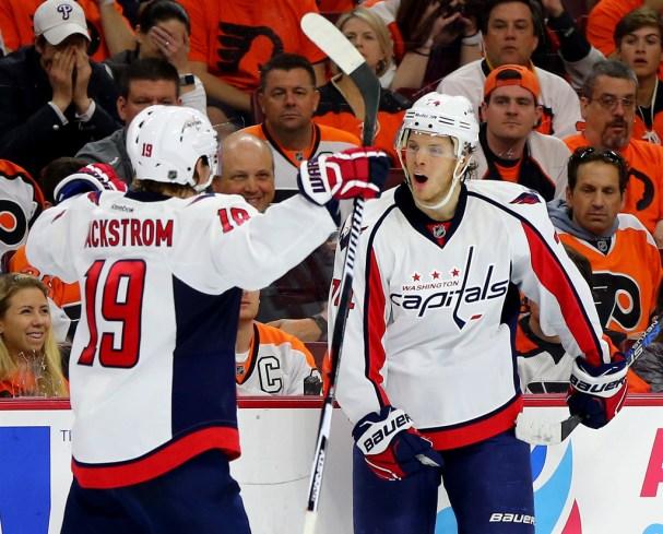 Carlson and Backstrom Celebrate