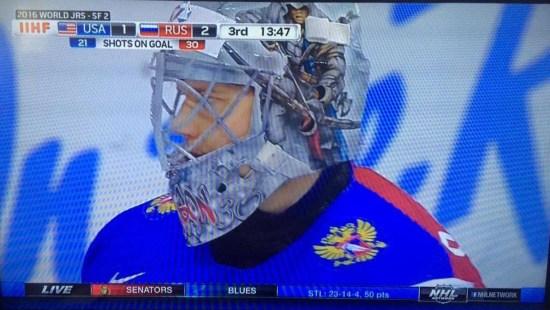 Ilya Samsonov Mask 2