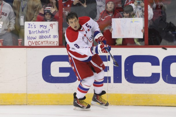 Ovechkin Sign