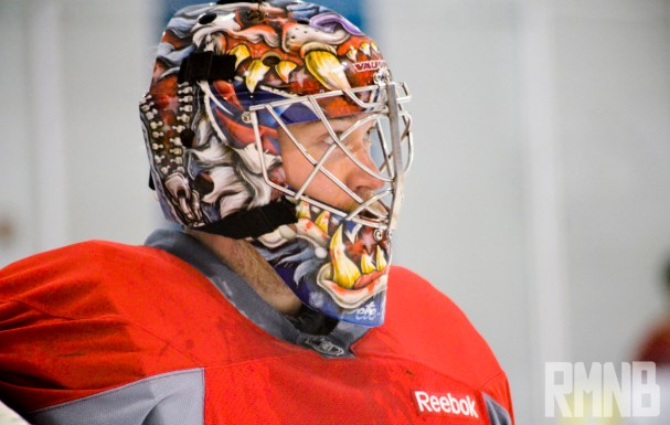 Justin Peters New Caps Mask