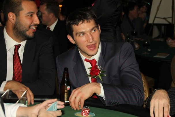 Alex Ovechkin at the Poker Table