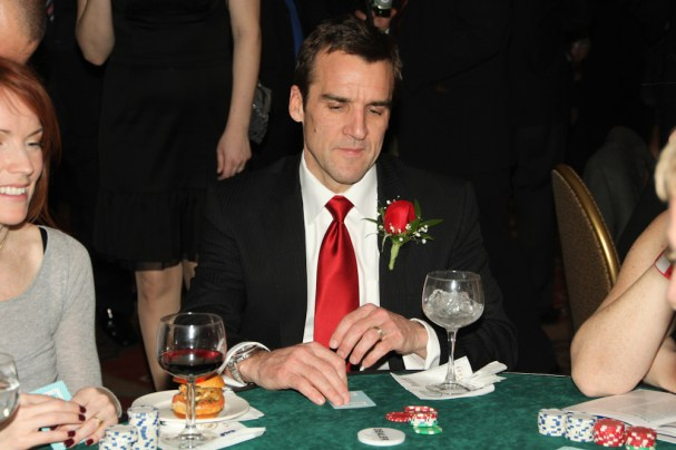 George McPhee at the Poker Table!