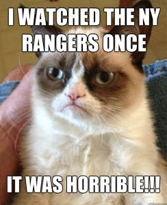 Rangers Grumpy Cat