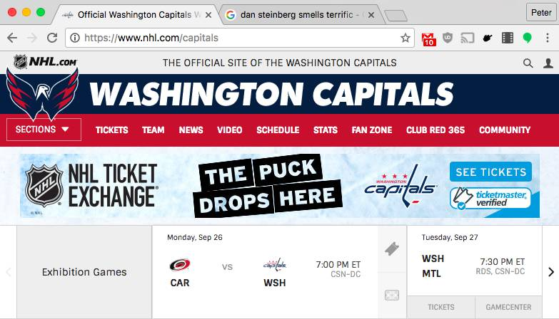 Every NHL team is probably about to get a new website 4e4a8992211