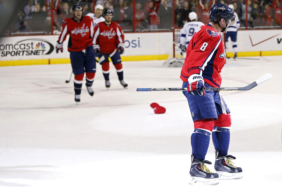 Alex Ovechkin Scores 13th Career Hat Trick