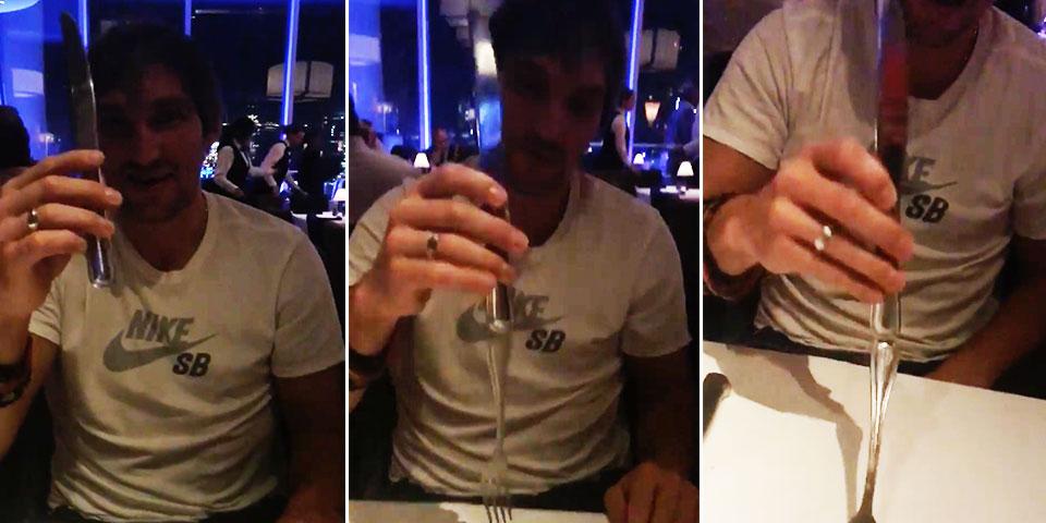 alex ovechkin has a magic trick and it involves silverwarerussian