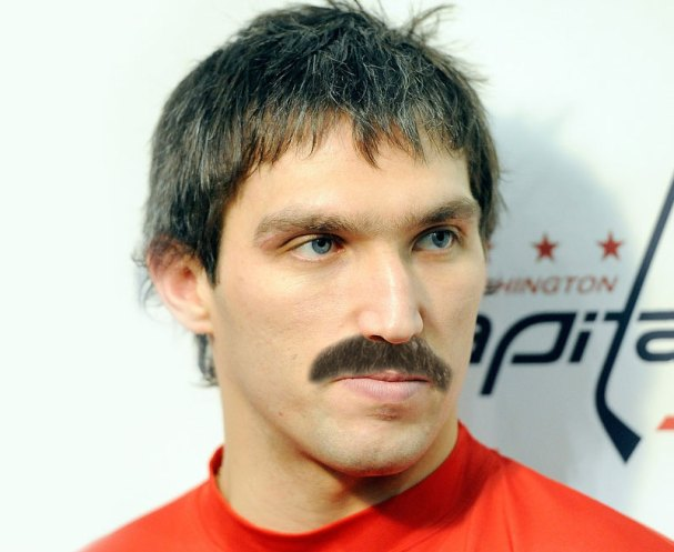 This is what Alex Ovechkin will look like with a mustache