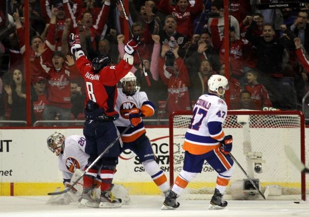 It feels so good! Alex Ovechkin's OTGWG Against the Islanders