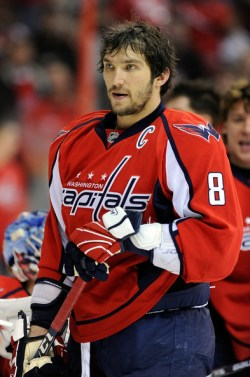 Alex Ovechkin (Photo by Greg Fiume)