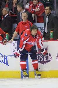 New Capitals Captain Alex Ovechkin (Photo by Heather Mabb)