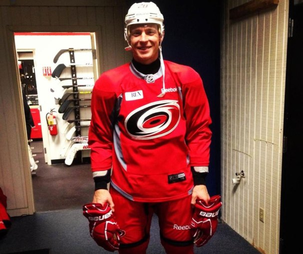 Alex Semin as a Carolina Hurricane